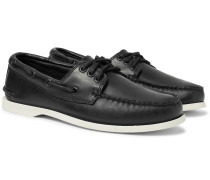 Downeast Leather Boat Shoes