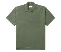 Yarmouth Linen and Cotton-Blend Half-Placket Shirt