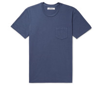 Contrast-Tipped Cotton-Jersey T-Shirt