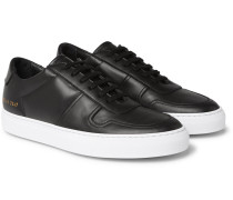 Bball Leather Sneakers - Black