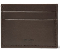 Leather Cardholder - Dark brown