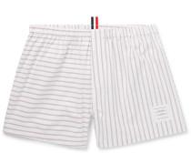 Striped Cotton Oxford Boxer Shorts