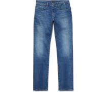 Delaware Slim-fit Stretch-denim Jeans - Indigo