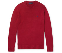 Cotton Sweater - Red