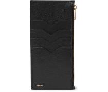 Full-grain Leather Zipped Cardholder