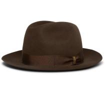 Marengo Rabbit-felt Hat - Brown