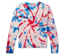 Tie-dyed Intarsia Cashmere Sweater - Multi