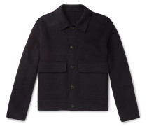 Wool and Cashmere-Blend Blouson Jacket