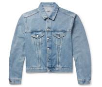 Mudride Distressed Denim Jacket