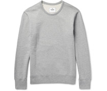 Loopback Cotton-jersey Sweatshirt - Light gray