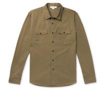 Cotton-twill Shirt - Green