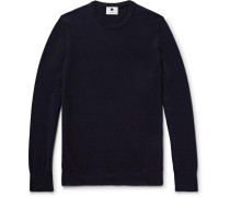 Charles Slim-fit Cashmere Sweater - Midnight blue