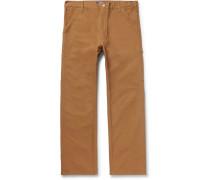+ Carhartt Cotton-canvas Cargo Trousers