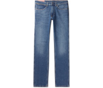 Max Slim-fit Stretch-denim Jeans - Blue
