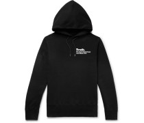 + The New York Times Printed Loopback Cotton-jersey Hoodie