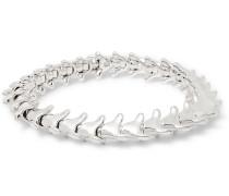 Serpent's Trace Sterling Silver Bracelet - Silver