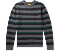 Lee Striped Cotton and Cashmere-Blend Sweater