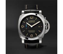 Luminor Marina 1950 3 Days Acciaio 44mm Stainless Steel And Alligator Watch