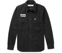 Denim Shirt - Black
