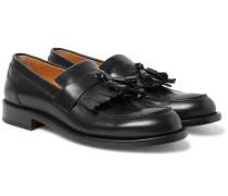 Cambridge Leather Tasselled Kiltie Loafers