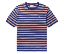 Knitted Cotton and Cashmere-Blend T-Shirt