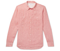 Mélange Linen Shirt