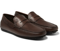 City Gommino Leather Penny Loafers