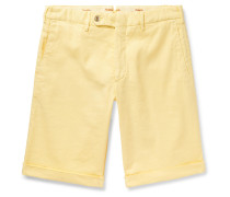 Chase Stretch-Linen and Cotton-Blend Twill Shorts