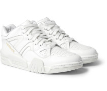Ophion Panelled Leather Sneakers