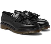 Adrian Polished-Leather Tasselled Loafers