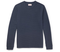 Berwick Ribbed Stretch-cotton Sweatshirt