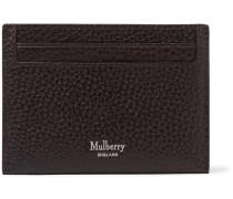 Full-grain Leather Cardholder - Dark brown