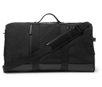 Eclipse Scritto Leather-Trimmed Nylon Holdall