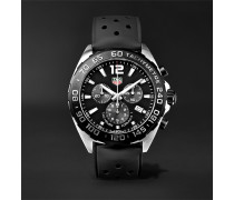 Formula 1 Chronograph 43mm Stainless Steel And Rubber Watch