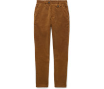 Fishtail Cotton-corduroy Trousers