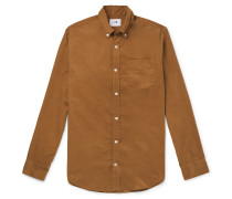 Levon Button-Down Collar Cotton-Corduroy Shirt