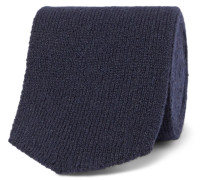 7cm Knitted Cashmere Tie