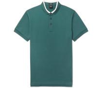 Penrose Contrast-tipped Cotton-piqué Polo Shirt
