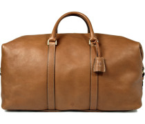 Clipper Leather Holdall - Brown