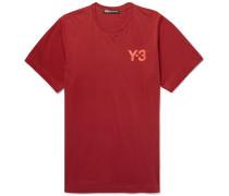 Logo-print Stretch-cotton Jersey T-shirt