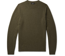 Cashmere And Yak-blend Sweater - Green