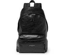 Arena Creased-leather Backpack