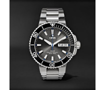 Aquis Hammerhead Limited Edition Automatic 45.5mm Stainless Steel Watch, Ref. No. 01 752 7733 4183-Set MB
