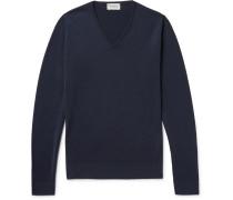 Blenheim Merino Wool Sweater - Midnight blue