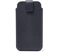 Panama Cross-grain Leather Iphone 8 Case