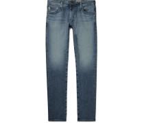 Dylan Skinny-fit Stretch-denim Jeans - Blue