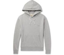 Mélange Loopback Cotton-jersey Hoodie