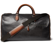 Jour-off Mm Leather Holdall - Black