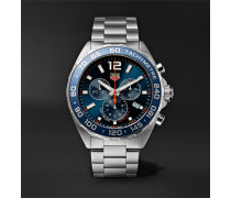 Formula 1 Chronograph Quartz 43mm Stainless Steel Watch - Blue