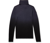 Dégradé Virgin Wool Rollneck Sweater